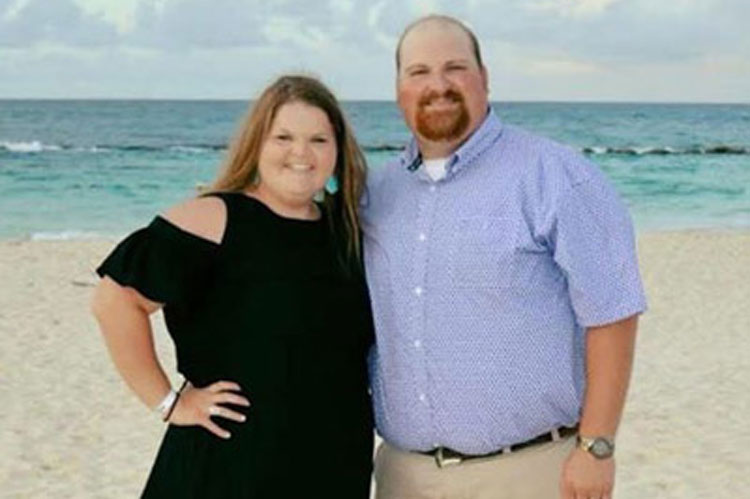 Karley Buerger (with husband)